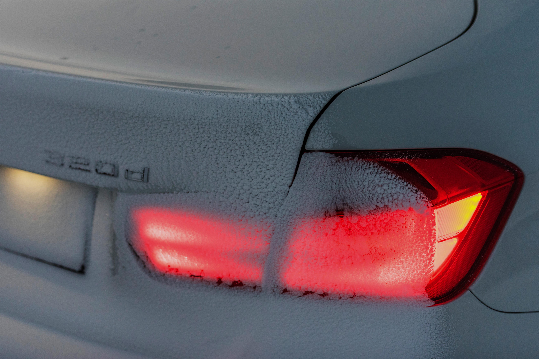 De autoverlichting is van cruciaal belang