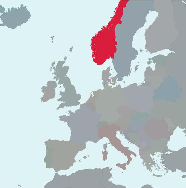 Winterbandenwetgeving Noorwegen